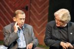 Václav Havel s Paulem Wilsonem