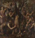 Tiziano Vecellio / Apollo a Marsyas (1550–1576)