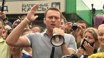 Odsouzený ruský opoziční předák Alexej Navalnyj me…