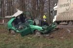 Tragická dopravní nehoda u Dobšic