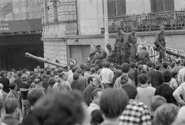 21. srpen 1968 v ulicích Brna