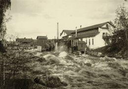 Původní továrna ve městě Nokia