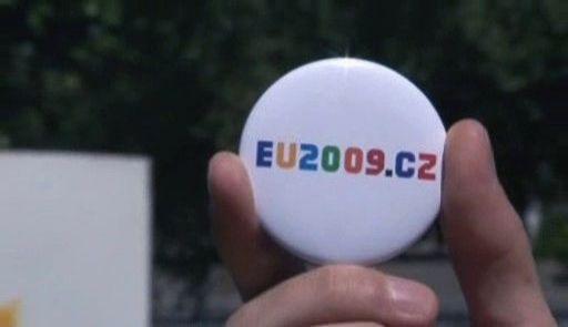 Evropské graffiti propaguje české předsednictví EU